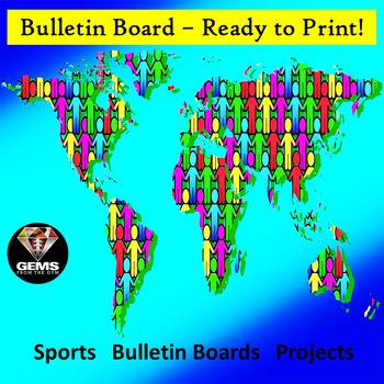 World Unity Bulletin Board Poster - Multi-Use!