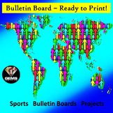 Bulletin Board - Ready to Print!  Easy and Multi-Functional!
