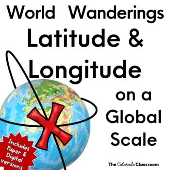 World Wanderings: Latitude & Longitude Practice
