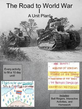World War 1: A Unit Plan
