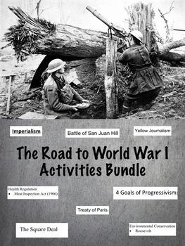 World War 1 Activity Bundle: 26 Activities in 1!
