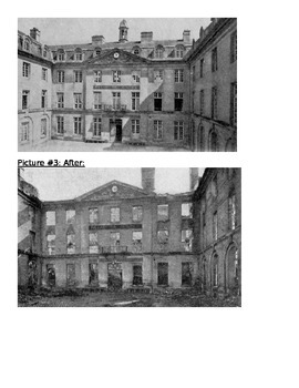 World War 1 Before and After Pictures
