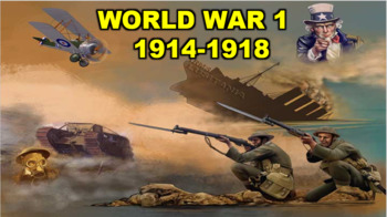 World War 1: Beginning PowerPoint