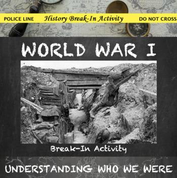 World War 1 Break In Activity