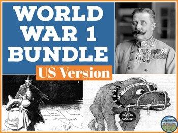 World War 1 Bundle for US History