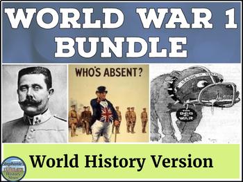 World War 1 Bundle World History Version