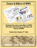 World War 1 Cause and Effect Stations