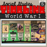 World War 1 Classroom Timeline (SS5H2)