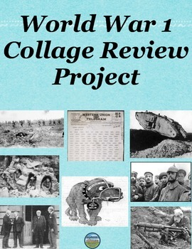World War 1 Collage Project
