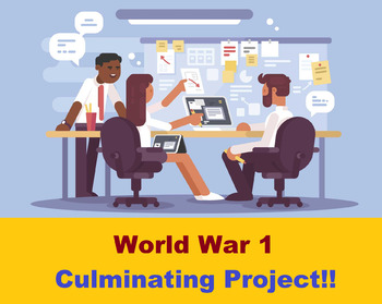 World War 1 Culminating Project for the Unit !