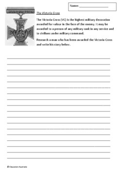 World War 1 Gallipoli Pack - Worksheets for 5 Books + Trivia Quiz - Anzac Day