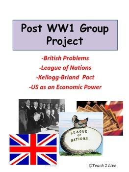 World War 1 - Group Project
