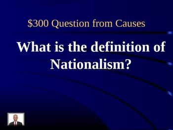 World War 1 Jeopardy Power Point