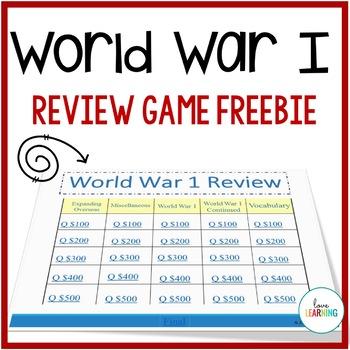World War 1 Review Game