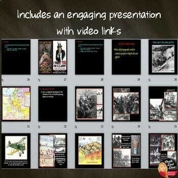 World War I Lecture PowerPoint Presentation Print & Digital