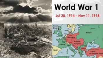 World War 1 Lesson Pack