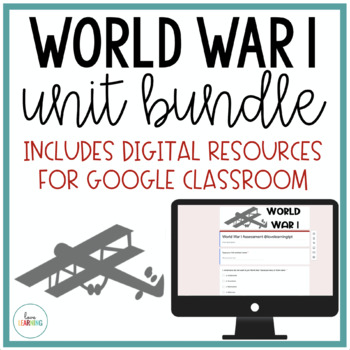 World War 1 Unit with Interactive Notes