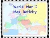 World War 1 - Map Activity