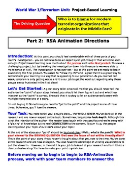 World War 1 / Modern Day Terrorism: RSA Animation (Presenting the Product)