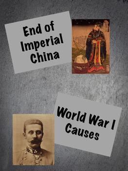 World War 1 Notes