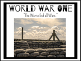 World War 1 Overview Powerpoint