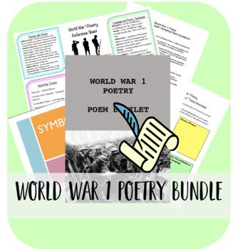 World War 1 Poetry Bundle