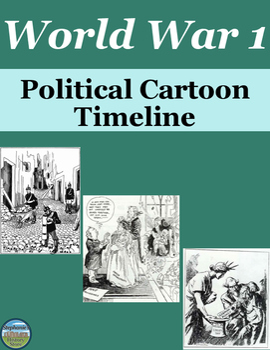 World War 1 Political Cartoon Timeline