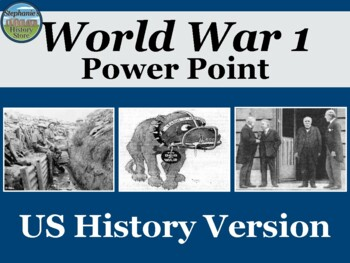 World War 1 Power Point US History Version