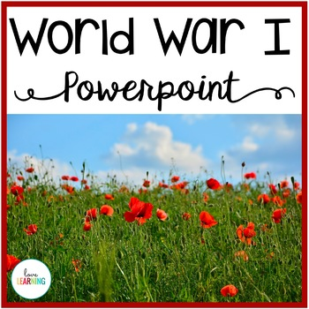 World War 1 PowerPoint Lesson