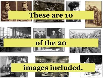 World War 1 Primary Source Image Activity