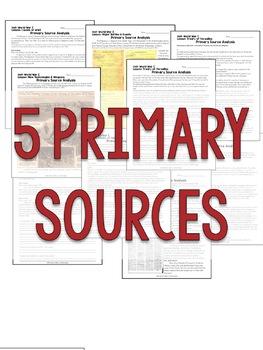 World War 1 Primary Sources, World War I, WW1, WWI Primary Documents