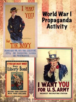 World War 1 Propaganda Activity