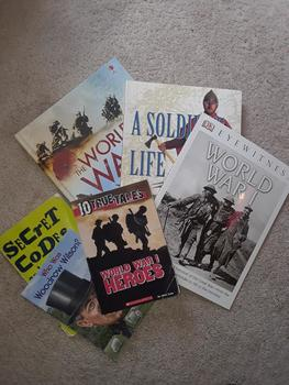 World War 1 Reading List (Recommended for ages 8-12)