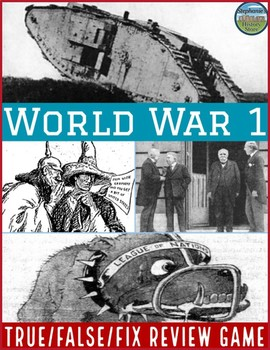 World War 1 Review Game