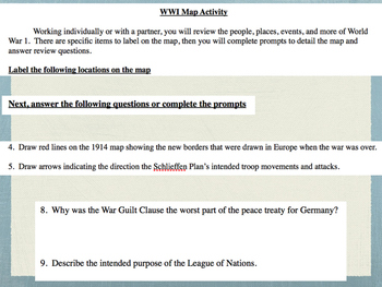 World War 1 Review Projects Mini Bundle