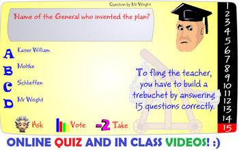 World War 1- Schlieffen Plan and Italy Backs out of Alliance Lesson Plan