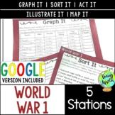 World War 1 Station Activities, World War I, WW1, WWI