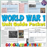 World War 1 Study Guide and Unit Packet