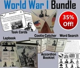 World War 1 Task Cards and Activities Bundle