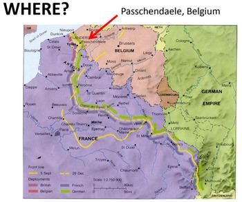 World War 1- Third Battle of Ypres/ Passchendaele