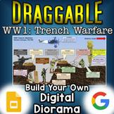 World War 1 Trench Warfare - Digital Draggable Diorama