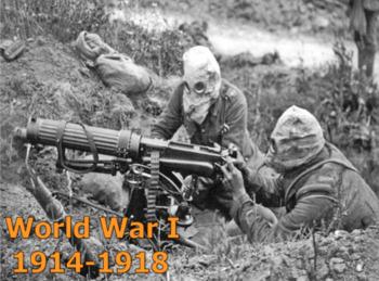 World War I (U.S. History) with Video BUNDLE