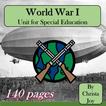World War 1 Unit for Special Education