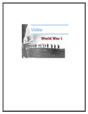 World War 1 Video and Activity Pack