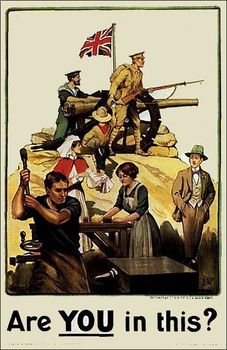 World War 1 (WW1): Propaganda Poster Analysis and Creation.