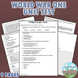 World War 1 Test (WW1)