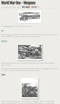 World War 1 Webquest