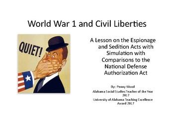 World War 1 and Civil Liberties