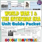 World War 1 and Interwar Era Study Guide and Unit Packet