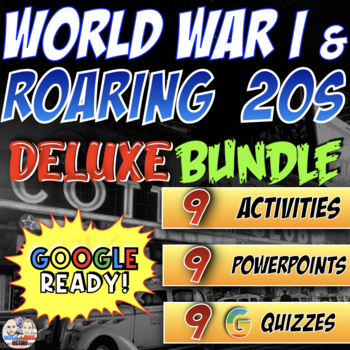 World War I and Roaring 20's Deluxe Bundle